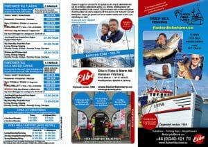 Fladen Fisketurer broschyr